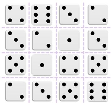 2D-dice-grid