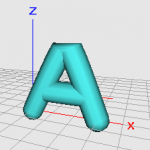 3d-printing-letter-a