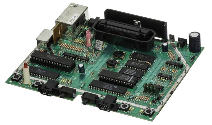 Atari 7800 - Motherboard