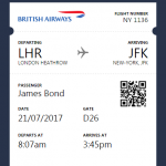 Boarding Pass Validation