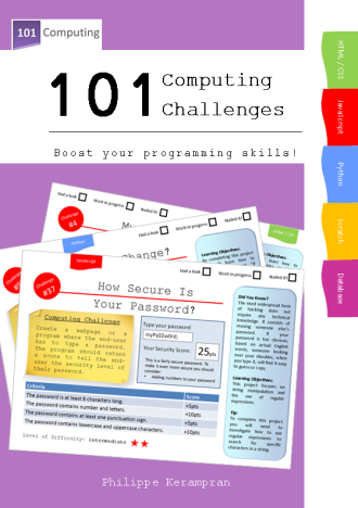 101 Computing Challenges - Book Cover