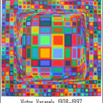 Victor Vasarely's Artwork revisited using Python