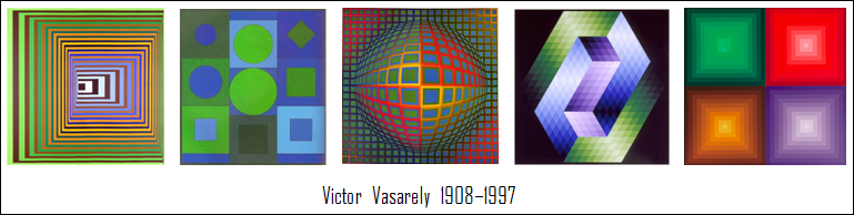 Victor Vasarely - Selection