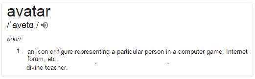 avatar-definition