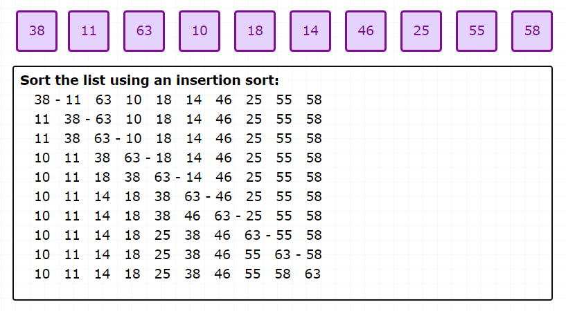 card-sort-insertion-sort