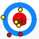 Collision Detection Algorithm in a game of Curling