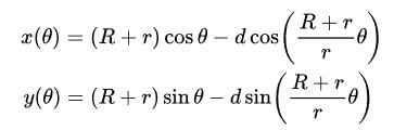 epitrochoid-formulas
