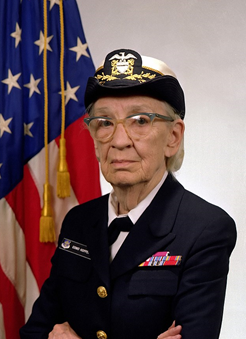 Rear Admiral Grace Hopper, 1984