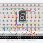 BBC micro:bit Counter using a 7-Segment Display