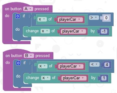BBC micro:bit – Car Racing Game | 101 Computing