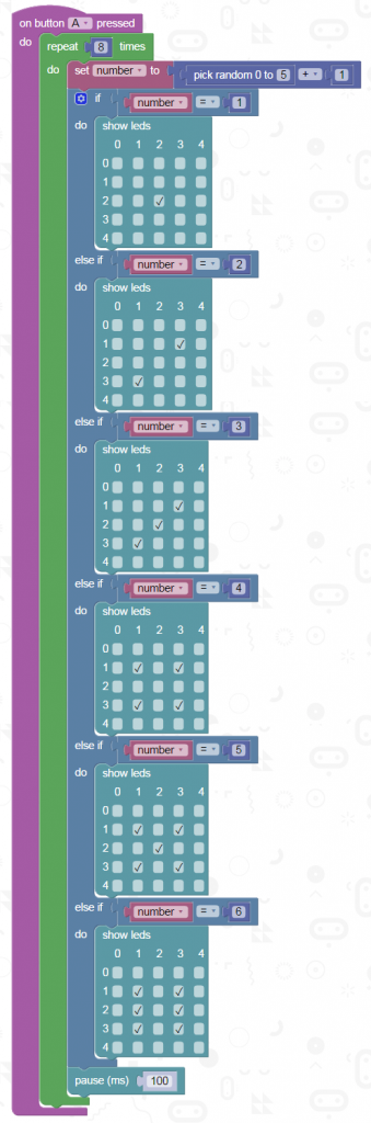 micro-bit-die-code