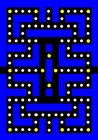 pacman-maze-2d-array