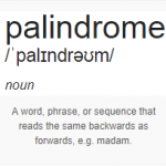 palindrome-definition