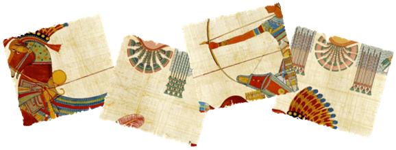 papyrus-pieces