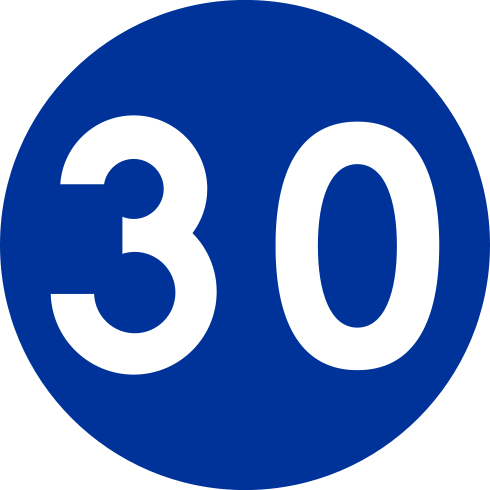 road-sign-30