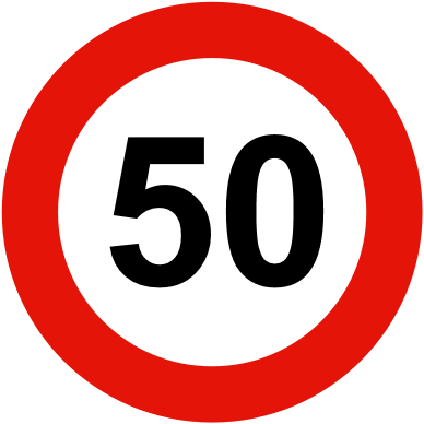 road-sign-speed-limit
