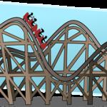 My Python Turtle Roller Coaster