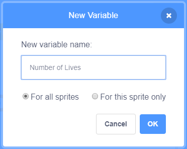 scratch-number-of-lives-variable