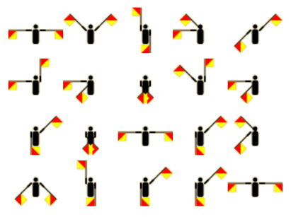 secret-santa-semaphore-flags