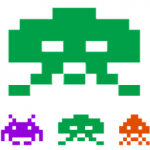 Space Invaders – 3D Pixel Art
