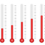 thermometer-visualisation