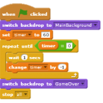 How to create a timer in Scratch?