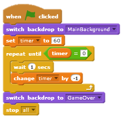 How to create a timer in Scratch? | 101 Computing