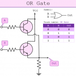 transistor-OR-Gate